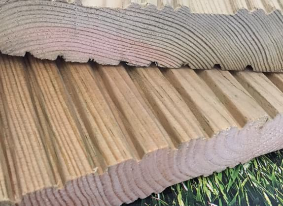 Treated Softwood