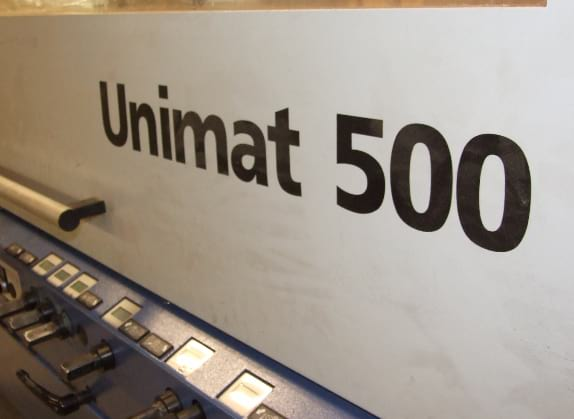 New Unimat 500 moulder added to our milling facility
